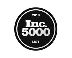 Incedo placed on the 2019 Inc 5000 list